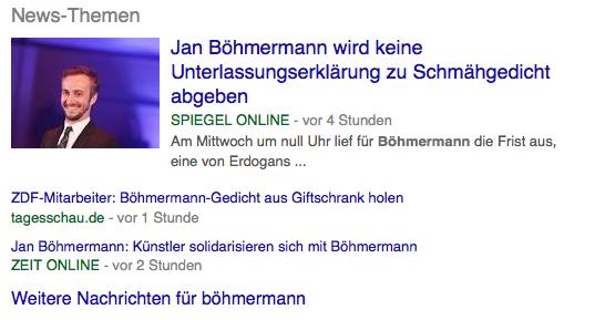 Böhmermann und wie sich Deutschland das Recht hinbiegt