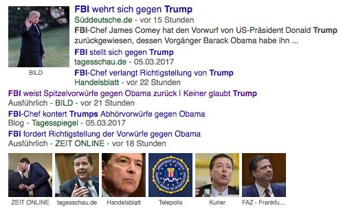 Zusammenfassung Trump, FBI, Obama, Russland – Abhörskandal